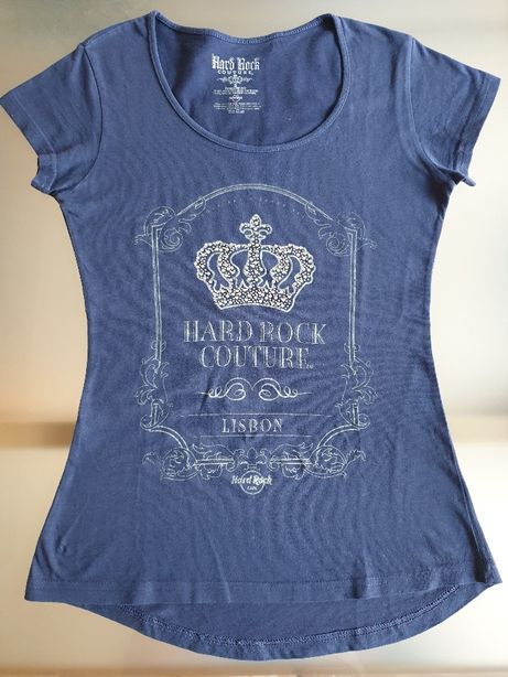 blusa azul (S) Hard Rock