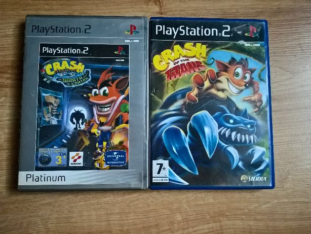crash bandicoot the wrath of cortex of the titans ps2 playstation2