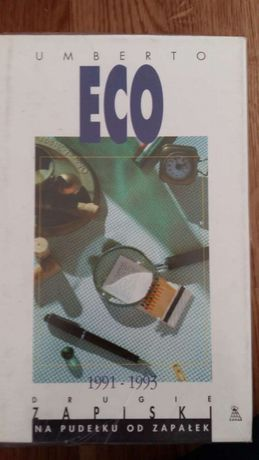Umberto Eco Drugie zapiski na pudełku od zapałek
