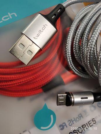 TWITCH kabel magnetyczny 2m USB do każdego telefonu
