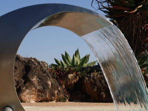 Cascata para piscina - Waterfall for swiming pool