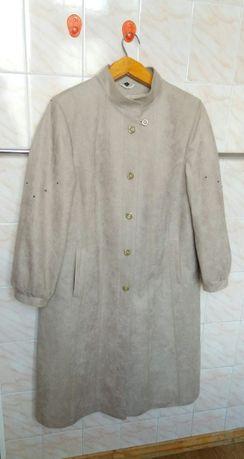 Пальто женское новое на теплую весну-осень р.48-50