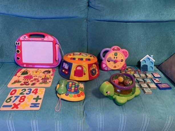 Zestaw zabawek różne rodzaje