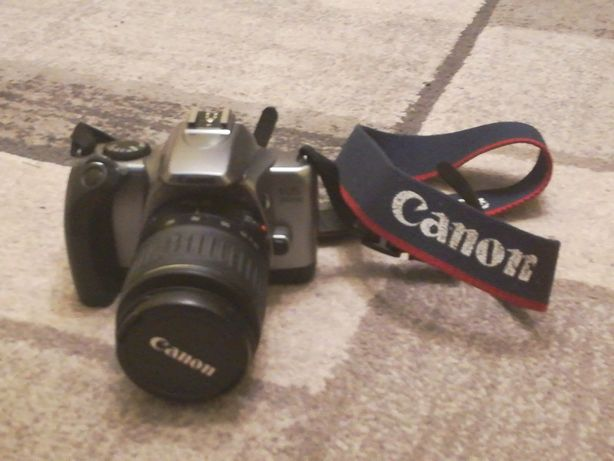 Aparat Canon analogowy