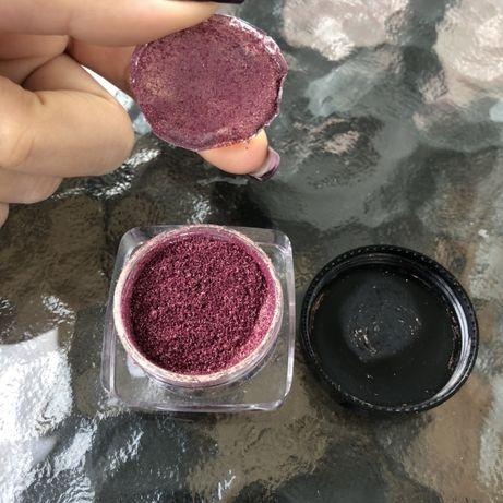 Тени перламутровые kiko блестящие для век mac розовые пигмент inglot