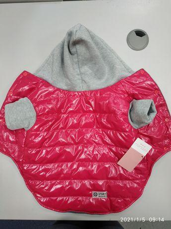 Одежда для собак. Куртка на флисе