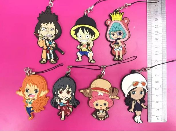 Porta chaves one piece anime