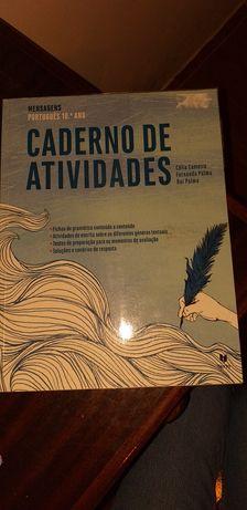 Caderno de atividades de Português 10°ano.