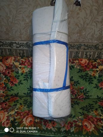 Матрас беспружинный на диван, размер 120*190см