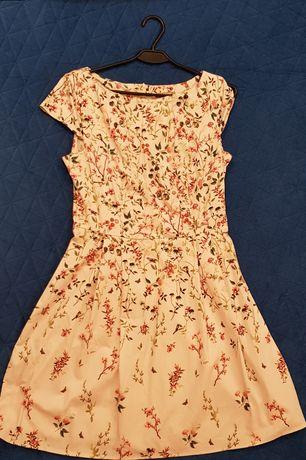 Sukienka Orsay 40, L, łąka, kwiaty, Otwock, Wawer, Falenica