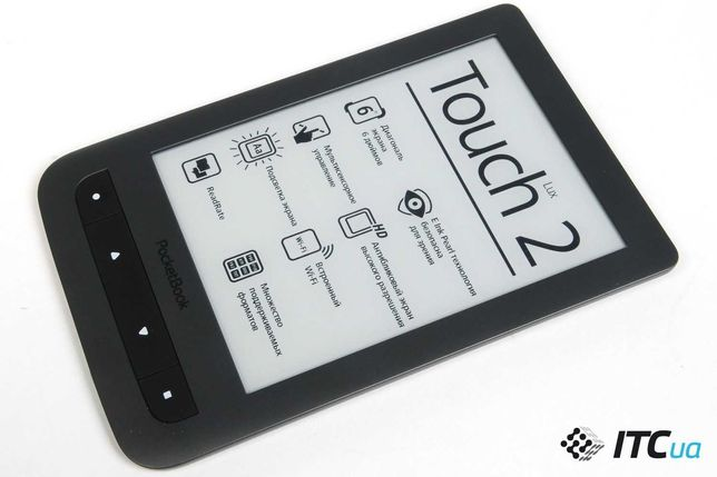 PocketBook Touch Lux 2 (626) Grey подсветка wifi