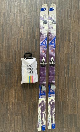 Narty skiturowe Ski Trab ALTAVIA 164 + foki POMOCA