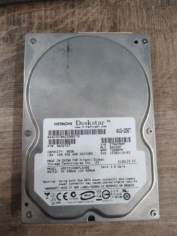 Жесткий диск HDD Hitachi 80gb
