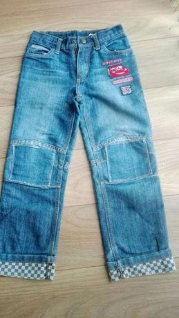 Spodnie chłopięce zygzak McQueen C&A