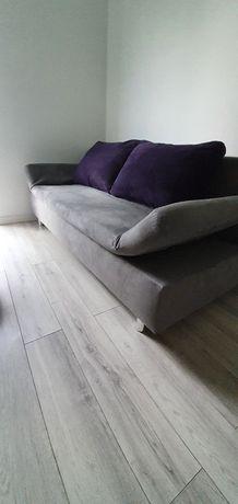 Kanapa rozkładana z funkcją spania, sofa, szara