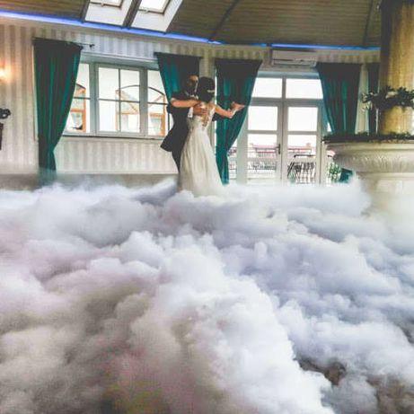 Dekoracje napis LOVE dekoracje imprezy okolicznościowe cięzki dym