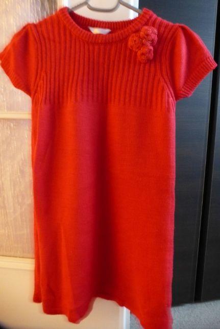 Sukienka swetrowa rozm. 110