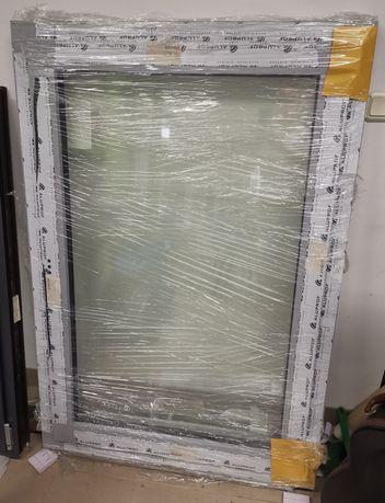 Okno aluminiowe szyba antywłamaniowa