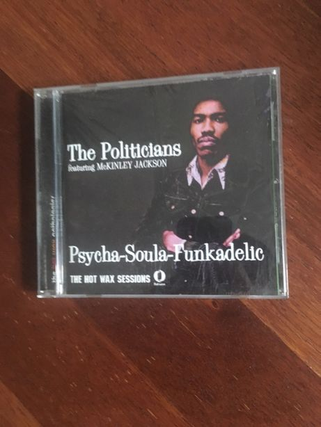 The Politicians Featuring McKinley Jackson ‎– Psycha Soula Funkadelic