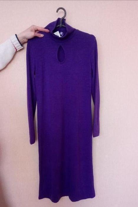 Вязаное платье тёплое платье Гайсин - изображение 1