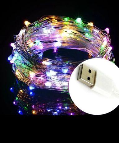 LED гирлянда 10 м 100 led