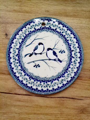 Deska do krojenia ozdoba ścienna GILE Ceramika Artystyczna Bolesławiec