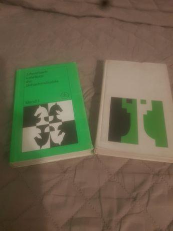 Książka 2 tomy końcówki szachowe j.niemiecki