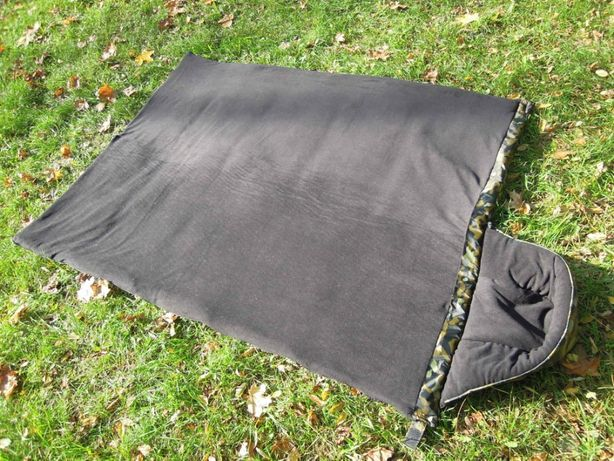 Спальный мешок флисовая подкладка новый камуфляж одеяло спальник