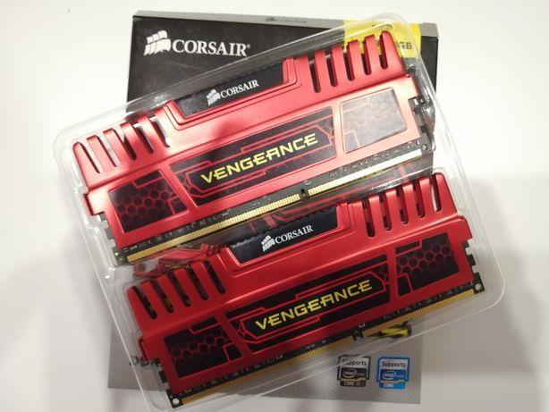 Pamięć RAM - Corsair Vengeance 2x4GB - DDR3 1600 MHz