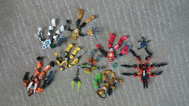 8 zabawek lego transformersow