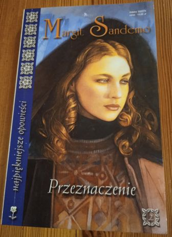 Książka Margit Sandemo - Przeznaczenie + 2 inne książki