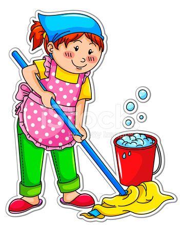 Ofereço-me como empregada doméstica