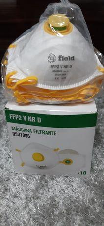 Vendo máscaras de protecção descartáveis