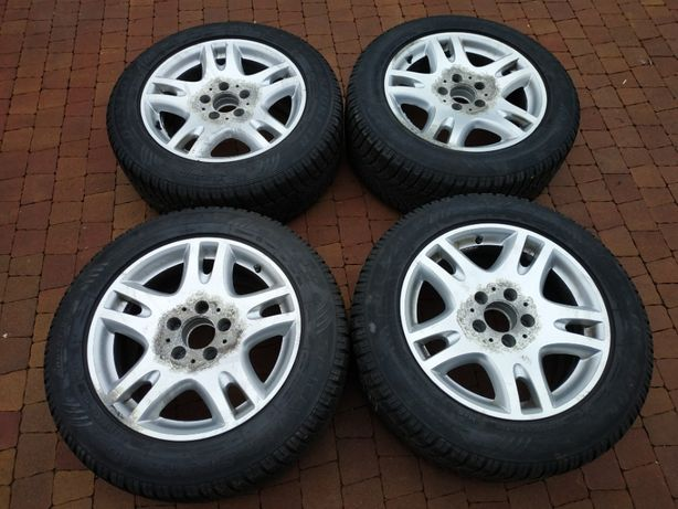 2002. Alufelgi kola zimowe Mercedes W211 8J ET36 5x112 225/55/16