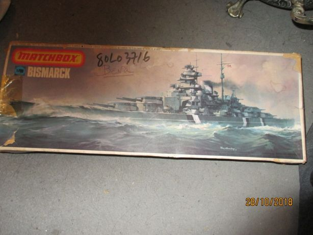 kit antigo Bismarck 1-700 da Matchbox