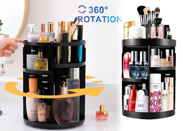 Органайзер для косметики вращающийся 360° бокс складной Cosmetic