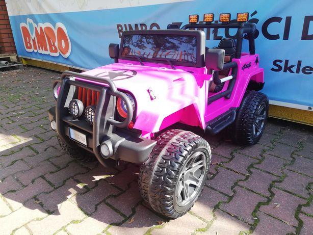 Dwuosobowy Jeep 4x4 12V WXE-1688 Auto na akumulator