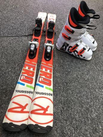 Komplet narciarski dziecięcy narty+buty