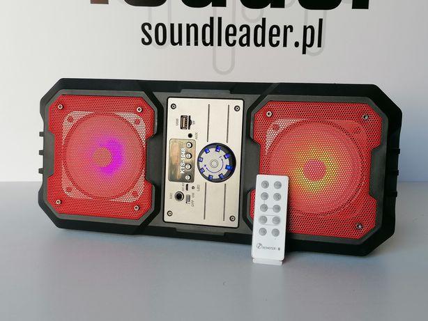 Głośnik TWS bluetooth stereo karaoke radio odtwarzacz mp3