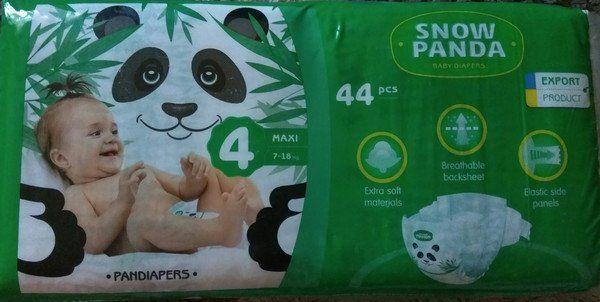Памперсы Снежная Панда №4