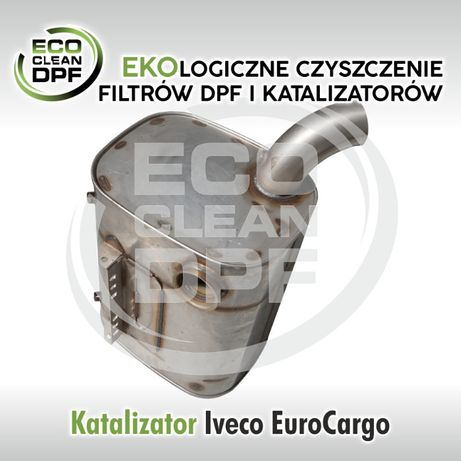 IVECO EURO CARGO- Katalizator tłumik-Regeneracja