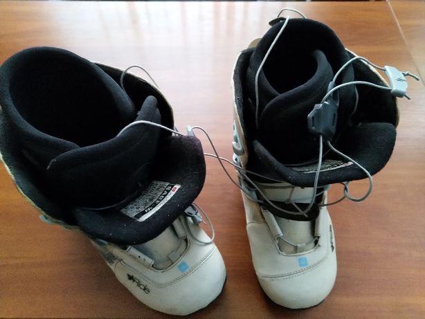 продам сноубордические ботинки 38 р б/у, Лукьяновка