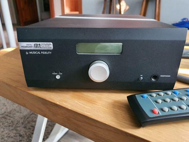 Musical fidelity m1sdac DAC przedwzmacniacz