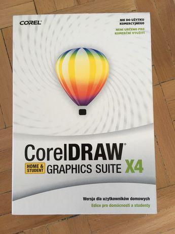Corel Draw X4 Graphics Suite Home & Student na płycie