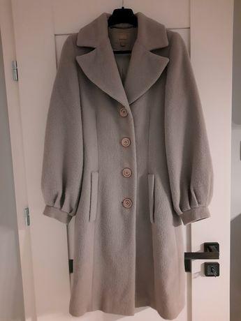 Płaszcz wełna, alpaka, Simple XS