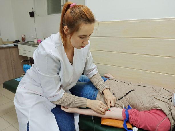 Медсестра на дому /медицинские услуги (уколы) на дому