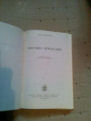 Historia Szwajacarii Jerzy Wojtowicz