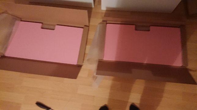 Sprzedam front różowy do szuflad z IKEA Systemu STUVA Malad