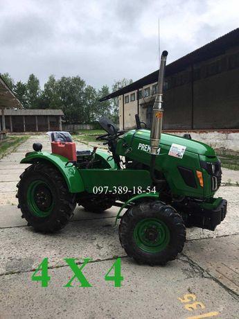 Трактор Булат 254 , 24 к.с,4х4,ВОМ, 3-точки,Мінітрактор, Минитрактор