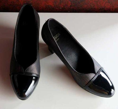 Sapatos Preto Metalizado Seaside 37